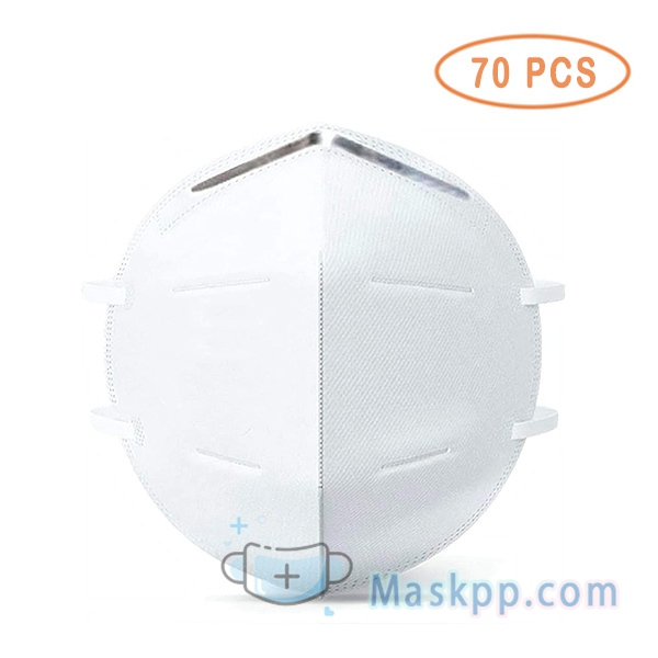 70 Pcs Breathing Against Dust Mouth Mask for Air Pollution
