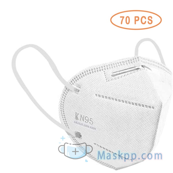 70 Pcs Facial Protection - Dust-Proof Adjustable Nose Full Face Protection