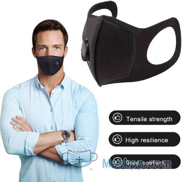 1 Pcs Anti-dust Mask - Breathing Valve Mask With Respirator