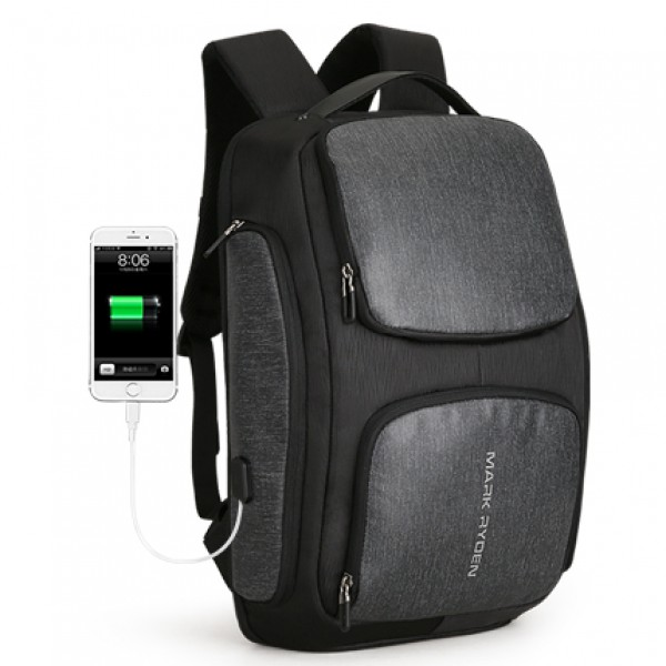 Mark Ryden Man Backpack Multi-layer Space 15.6 inc...